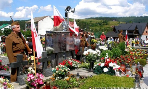 71. rocznica pacyfikacji Waksmunda