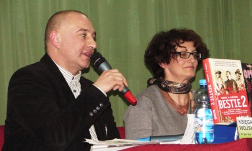 Elżbieta Moczarska i Tadeusz Marek Płużański