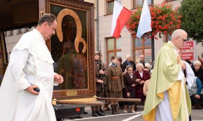 Powitanie Obrazu Matki Bożej Częstochowskiej