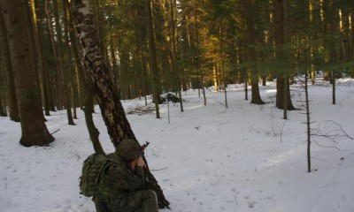 Szkolenie brzozowskich Strzelców
